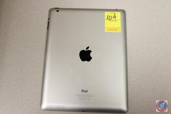 Apple iPad Model No. A1458 Serial No. MDJ1OLL/A DMQKK64ZF182 16 GB {{NO CHARGING CORD}}