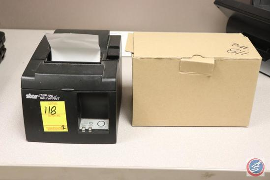 Star Receipt Printer Model No. TSP100, Assorted Electrical and Computer Cords