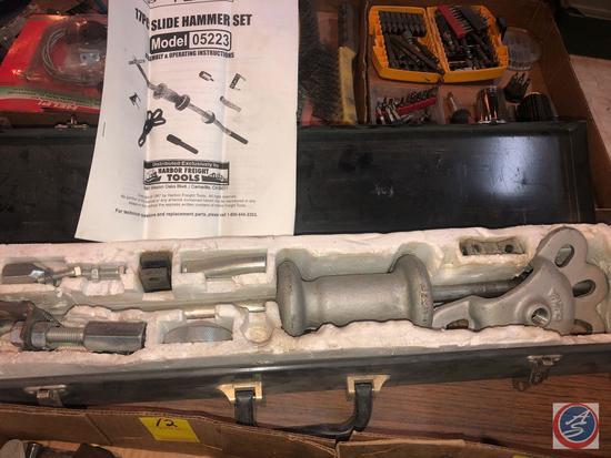 Central Forge 17 Pc. Slide Hammer Set Model No. 05223