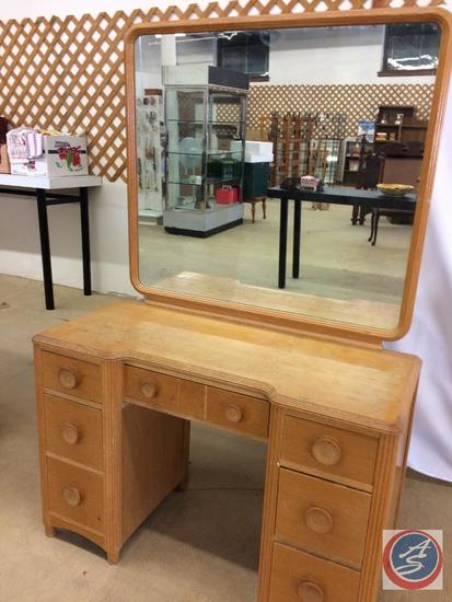 Vintage Dressing table with mirror