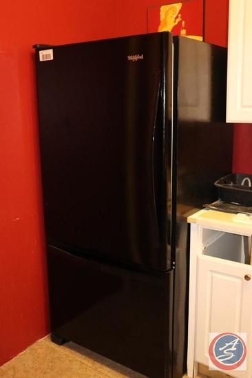 Whirlpool Black Refrigerator Freezer Model W683220-0800
