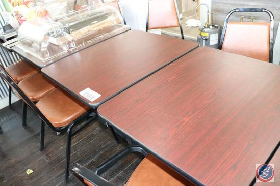 {3x$BID} [3] Lancasters 24 x 30 in. 2-Top Tables {{Sold 3x the Money}}