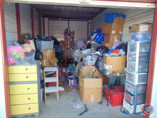 Complete Contents of Delinquent Storage Unit 207 [10 ft x 20 ft]