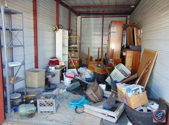 Complete Contents of Delinquent Storage Unit 215 [10 ft x 20 ft]