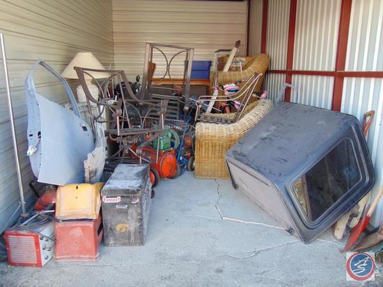 Complete Contents of Delinquent Storage Unit 300 [10 ft x 20 ft]