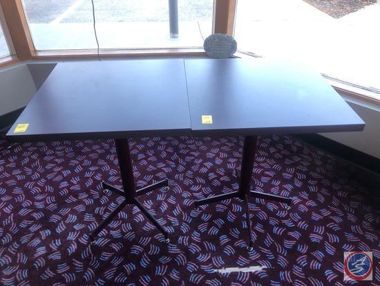 "{{2X$BID}} Pedestal Table Measuring 23.5"" X 23.5"" X30"""