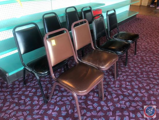 "{{8X$BID}} (6) KD Context Chairs Measuring 31"" and (2) Virco Chairs Measuring 33"""