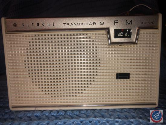 Hitatchi Transistor 9 Radio Model No. KH-915