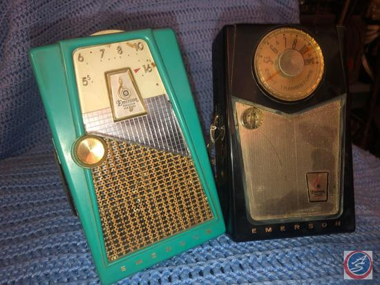 Emerson Model No. 888 Explorer Nevabreak Pocket Transistor Radio, Emerson Model No. 888 Nevabreak 8