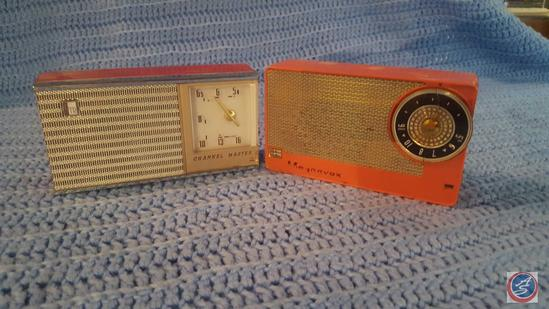 Magnavox Transistor Radio Model AM5, Channel Master Six Transistor Radio