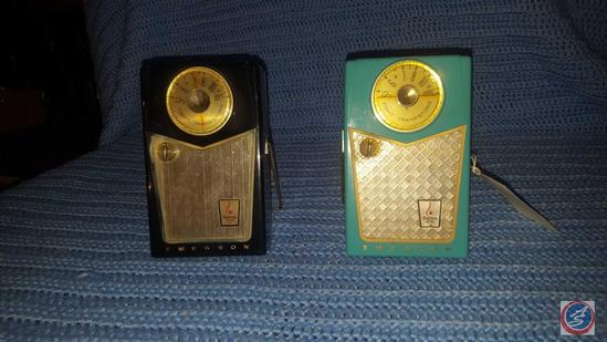 Emerson Model No. 888 Nevabreak Transistor Radio, Emerson Piorneer Model No. 888 Nevabreak