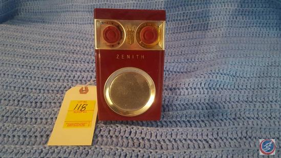 Zenith Royal 500 Tubeless Transistor Radio