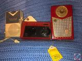Emerson Model No. 888 Pioneer Nevabreak Pocket Transistor Radio, Admiral Transistor Radio, Philco