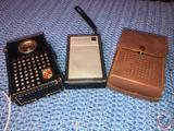 Magnavox AM-60 Transistor Radio, Westinghouse Transistor Radio and York 8 Transistor Pocket Radio
