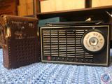Panasonic 6 Transistor Radio Model No. R-141 and G. Star 6 Transisor Radio