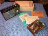 Royal Transistor Radio and Ross 14 Transistor Radio