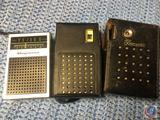 Transonic 8 Transistor Radio, Electro-Brand Hi-Fi 8 Transistor Radio and Magnavox AM Transistor