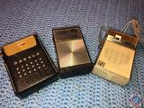 Solid State Transistor Radio Model No. 741-TC, Channel Master 6 Transistor Radio and Candle