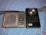 Vintage Lloyds 6 Transistor Radio Model No. TR-6, Elgin AM/FM Radio Model No. R-2400,