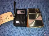 Vintage Sears Silvertone 8 Transistor Radio and Philco NT 600-BKG 6 Transistor Radio