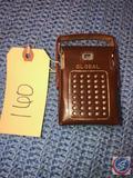 Vintage 1959 Global Transistor Radio Model No. GR-712