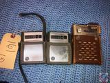 (2) Westinghouse 6 Transistor Radios Model No. H-707P6GPA and Royal 6 Transistor Radio