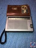 Sony Solid State AM/FM Radio Model No. TFM-6160W, Philco Model No. T64-124