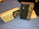 Vintage Zenith Royal 250 and General Electric All Transistor Radio