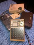 General Electric 10 Transistor Radio P-91700A, Stewart AM/FM Radio Model No. ST-315 and Waltham 10