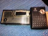 General Electric 8 Transistor Radio P-917D, Coronado 7 Transistor Radio