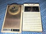 Vintage Zenith 8 Transistor Radio and Vintage Zenith Royal 60 Radio