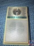 Vintage Zenith Royal 59 Blue Transistor Radio