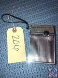 Vintage 1968 Admiral Pocket Transistor Model No. Y701R