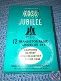 Ross Jubilee 12 Transistor Radio Model No. RE-121