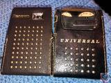 Renown 6 Transistor Radio Model No. 571 and Universal 6 Transistor Radio