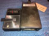 Magnavox 10 Transistor Radio and Sears Solid State 10 Transistor Radio