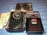 Harlie Solid State 8 Transistor Radio, RCA Victor Impac Transistor Radio and Motorola Transistor