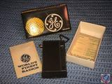 General Electric AM Solid State Radio in Original Box