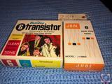 Holiday 6 Transistor Radio in Original Box and Jade 8 Transistor Solid State Radio in Original Box