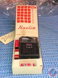 Harlie Solid State 8 Transistor Radio in Original Box with EverReady 9 Volt Battery and Tiger 9 Volt