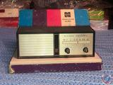 National Panasonic 6 Transistor Radio in Original Box Model No. R-7