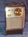 Vintage 1961 Arvin 8 Transistor Radio Model No. 62R48
