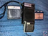 Wards Airline Super Micro 8 Transistor Radio Model No. GEN 1147, Vintage Transistor Radio Lot Watch
