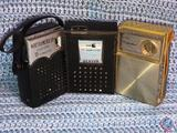 Vintage Sears Silvertone 8 Transistor Radio Model No. 6211, North American Solid State 15 Transistor