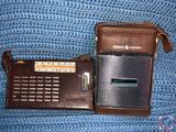 Vintage General Electric Sport Mate Transistor Radio and National Panasonic 2 Band 7 Transistor