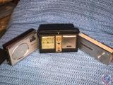 Vintage Raleigh 12 Transistor Radio, Aimor Transistor/Clock Radio and 2 Band 6 Transistor Radio