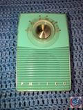 Vintage Philco Transistor Radio Model No. T50-124