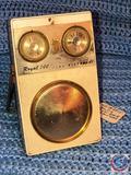 Vintage Zenith Royal 500E Long Distance 8 Transistor Radio