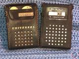 Universal 7 Transistor Radio and Realistic 9 Transistor Radio