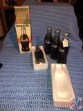 (4) Coca-Cola Bottle Radios [[ONE IN ORIGINAL BOX]]